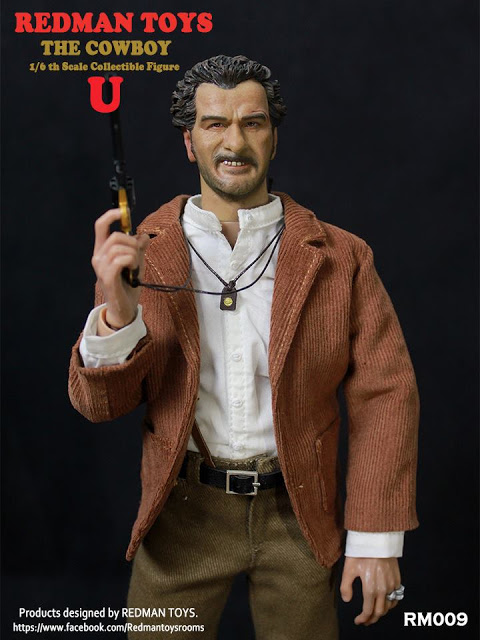 Redman Toys GBU Tuco 1/6th scale figure