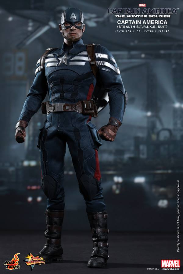 Hot Toys Captain America 2 The Winter Soldier STRIKE Suit Figure