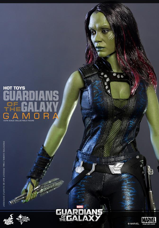 Hot Toys Guardians of the Galaxy Gamora 1/6th Figure