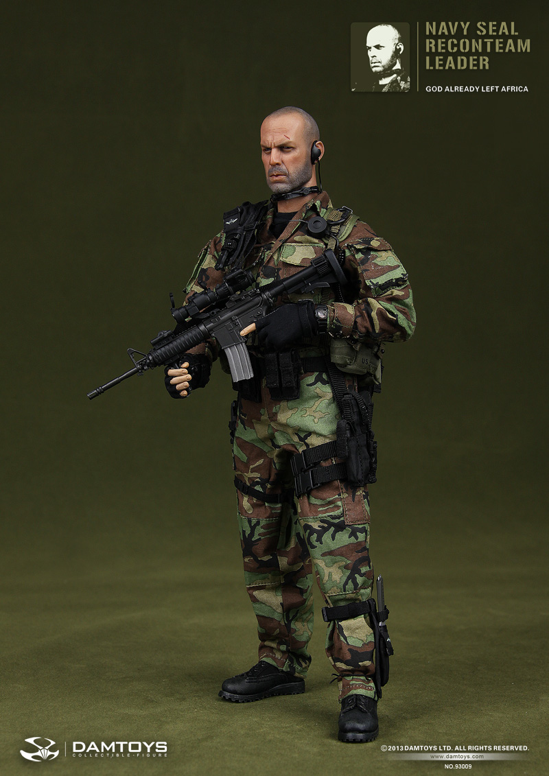 Navy Seal Recon Team Leader 93009