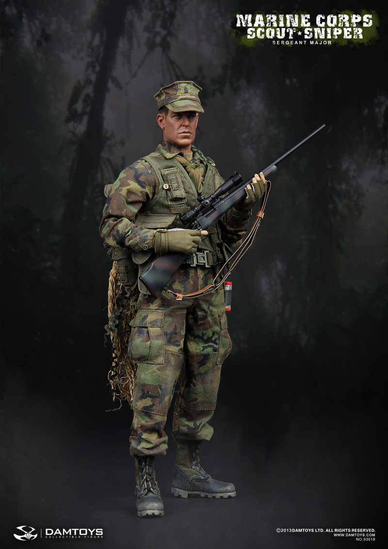 Marine Corps Scout Sniper Sergeant Major 93018