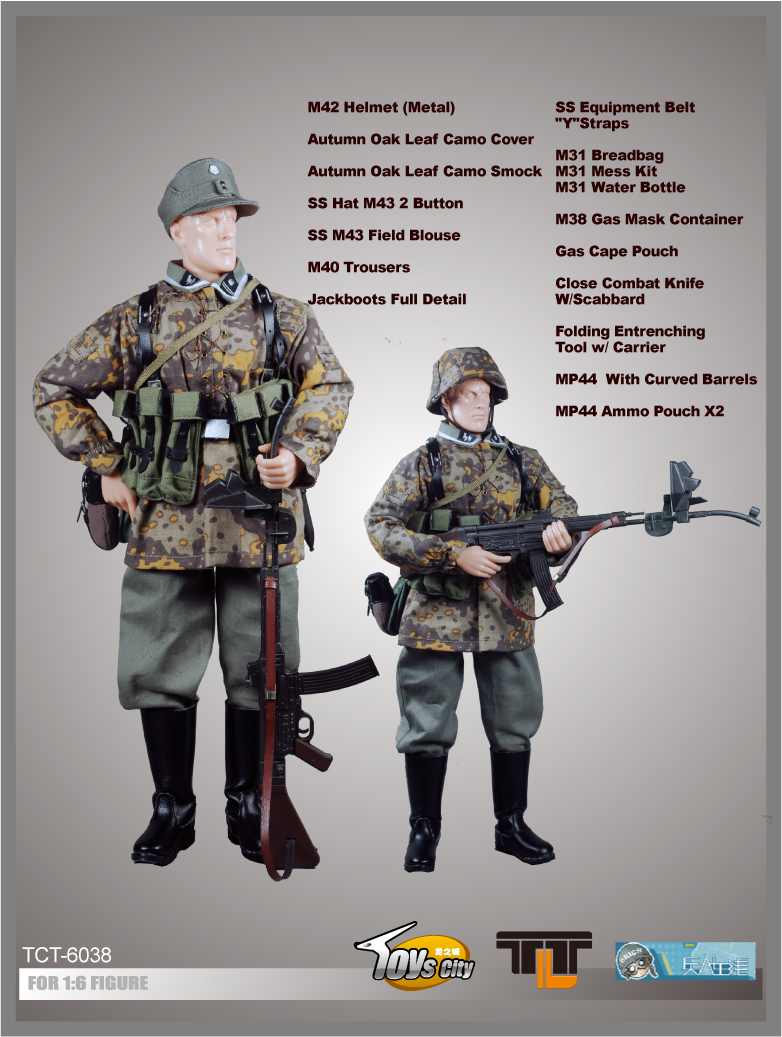 German Elite Units Accessory Set 9 ITEM NO: TCT-6038