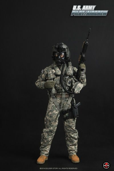 U.S. ARMY PILOT/AIRCREW 1/6th Figure
