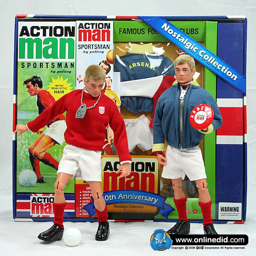 Action Man 40th Arsenal Set