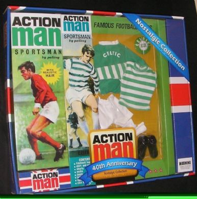 Action Man 40th Celtic Set