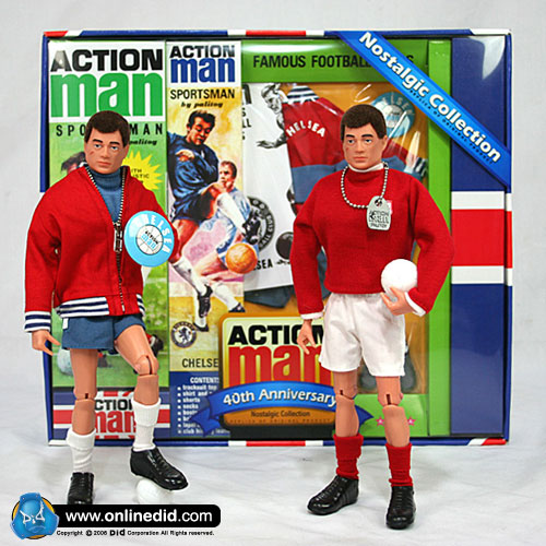 Action Man 40th Chelsea Set