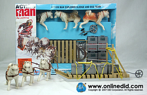 Action Man 40th Huskey Sledge Set