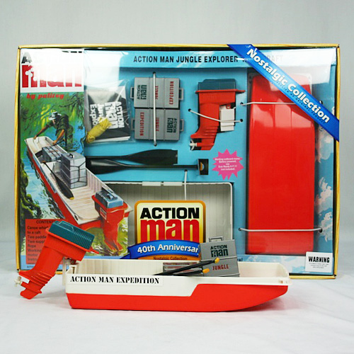Action Man 40th Jungle River Craft Set