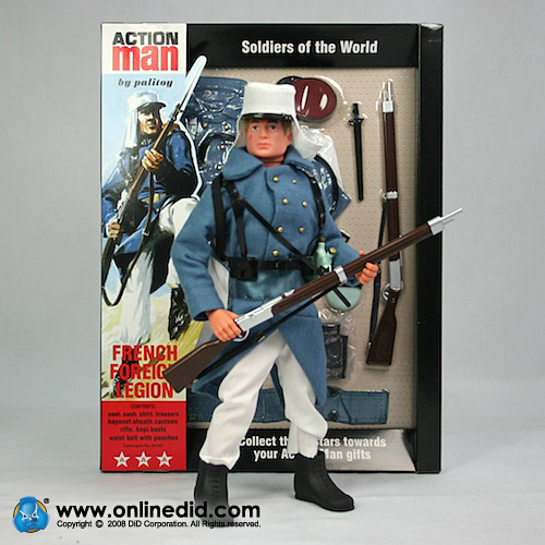Action Man 40th French Foreign Legion Light Blue Set