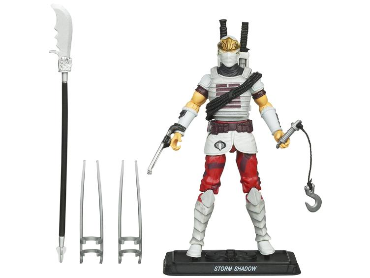 Gi Joe Pursuit of Cobra Storm Shadow Whirlwind Kick MOC