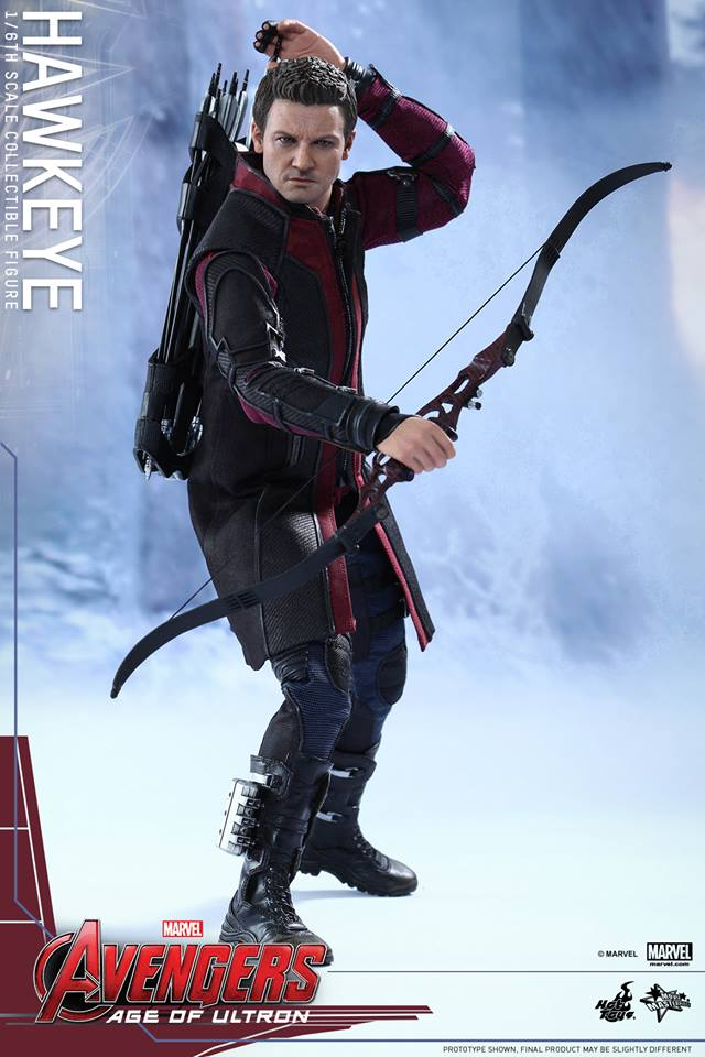Hot Toys Avengers Age of Ultron Hawkeye 1/6th Figure