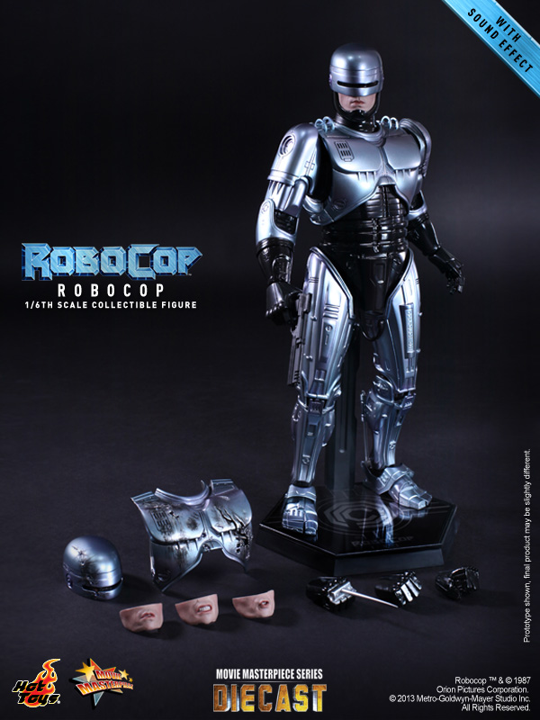 Hot Toys Robocop DIECAST Series 1/6th Figure