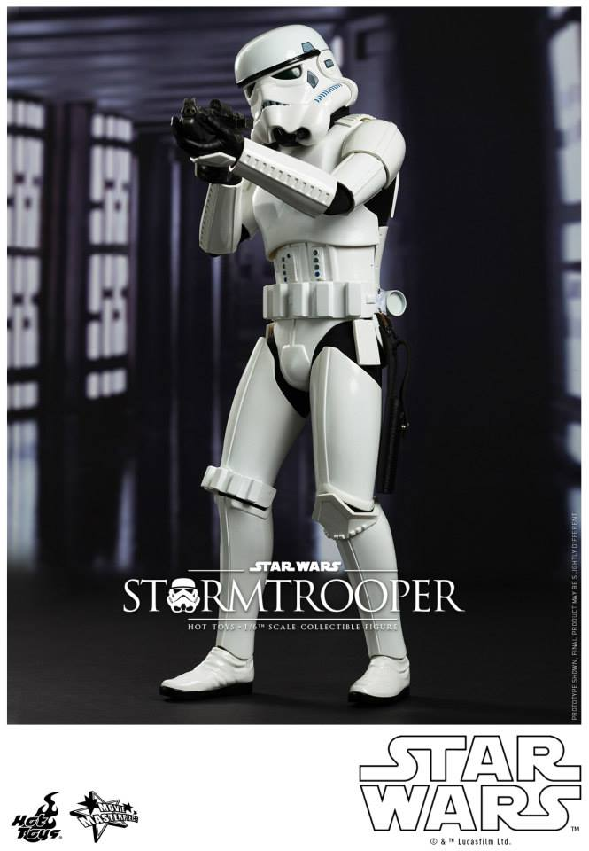 Hot Toys Star Wars Stormtrooper 1/6th Figure