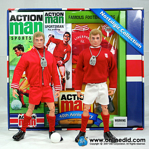 Action Man 40th Liverpool Set