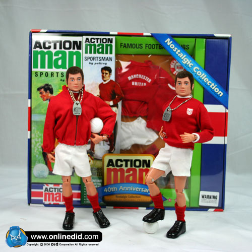 Action Man 40th Manchester United Set