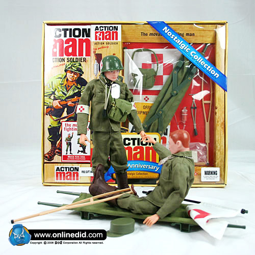 Action Man 40th Medic Set