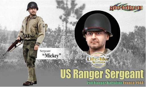 Mickey US Ranger Sergeant 2nd Ranger Battalion