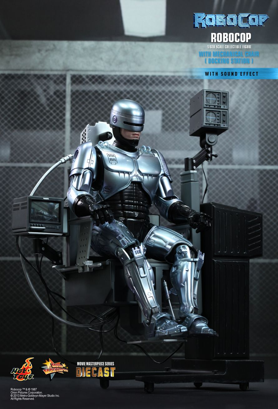 Hot Toys Robocop DIECAST Series with Chair 1/6th Figure
