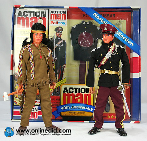 Action Man 40th Royal Hussar Set