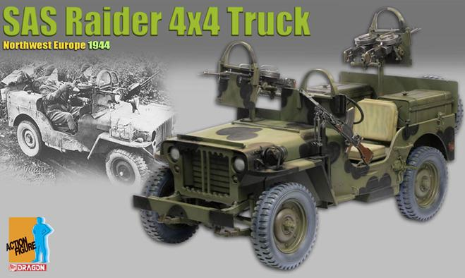SAS Raider 4x4 Truck  Northwest Europe 1944