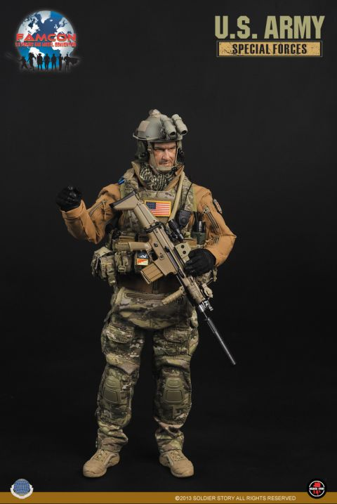 U.S. Army Special Forces FAMCON Exclusive