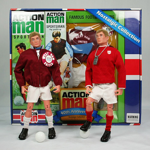 Action Man 40th West Ham Set