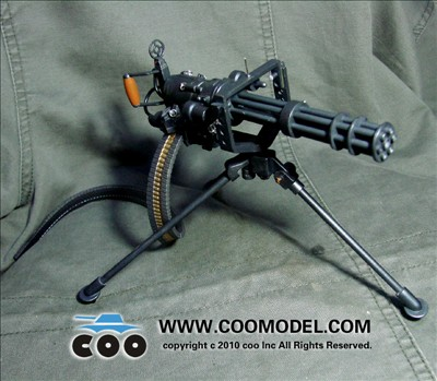 US M134 Mini Gun ITEM NO: x80012 1/6th scale