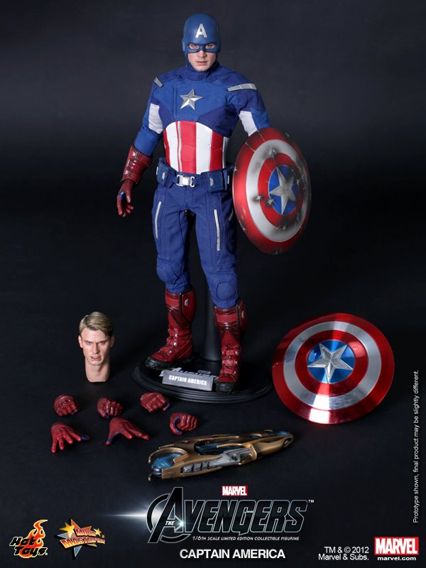 Hot Toys Captain America The Avengers MMS174