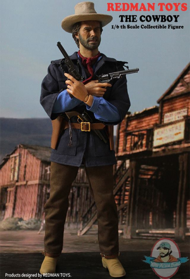 Redman Toys Outlaw Josey Wales 1/6th scale figure