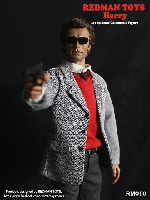 Redman Toys Dirty Harry 1/6th scale Figure