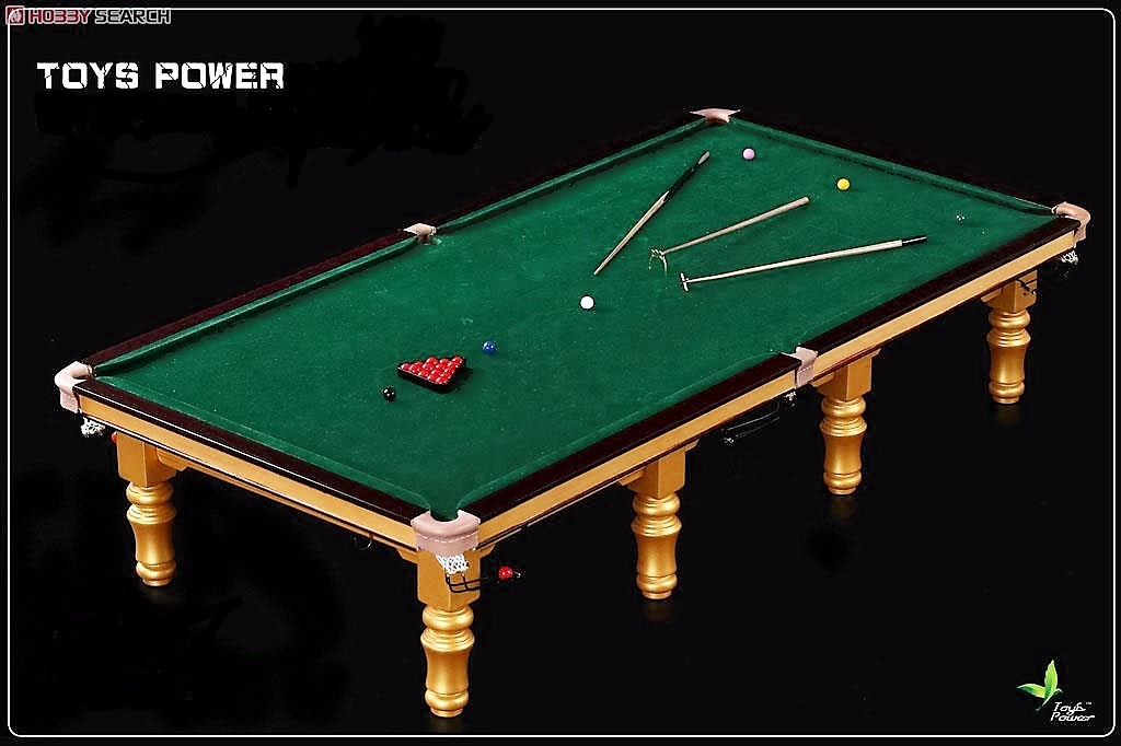 Snooker Table 1/6 th scale