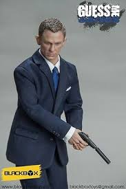 Spectre 007 Blue suit