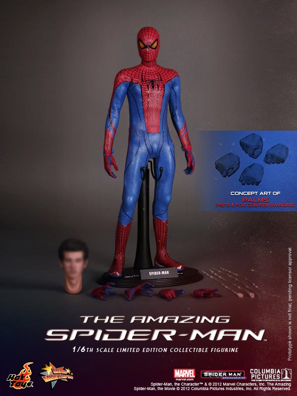 Hot Toys Amazing Spiderman MMS 179 Peter Parker 1/6th Figure